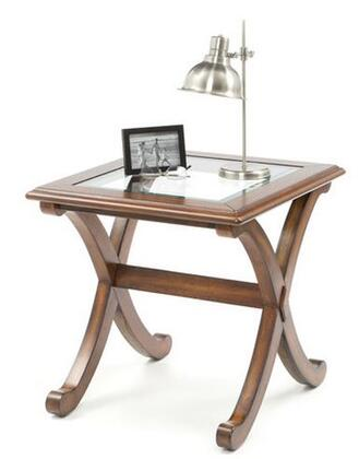 Standard Furniture 22842 Barcelona Series Transitional Square End Table