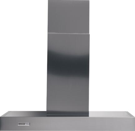 Broan Rangemaster RM53XY Wall Mount Chimney Hood with 370 CFM Internal Blower, Multi-Speed Slide Control, Heat Sentry, Dishwasher-Safe Filters and Convertible to Non-Ducted in Stainless Steel