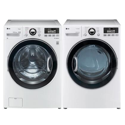 LG 297789 TurboWash Washer and Dryer Combos