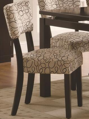 Coaster 103162 Libby Series Transitional Fabric Wood Frame Dining Room Chair