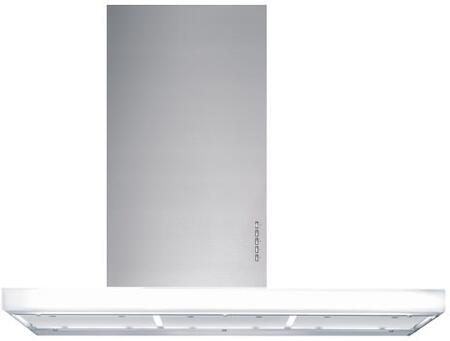 """Futuro Futuro WLxLUXOR x"""" Luxor Series Range Hood with 940 CFM, 4-Speed Electronic Controls, Delayed Shut-Off, Filter Cleaning Reminder, and in Stainless Steel"""