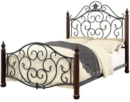 Furniture of America CM7688CK Lucia Series  California King Size Bed