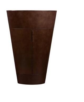 "Ronbow 034723 Leonie 23"" Wood Oval Cabinet with Glass Inside Shelf:"