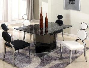 Chintaly OPRAHDTWHT Oprah Dining Room Sets