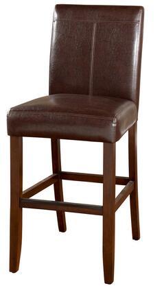 American Heritage 130101 Carla Series Residential Vinyl Upholstered Bar Stool