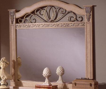 Sandberg 17610 Belladonna Palace Series Arched Landscape Dresser Mirror