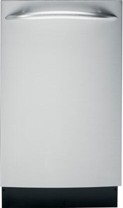 "GE Profile PDW1860NSS 18"" Profile Series Built In Fully Integrated Dishwasher"