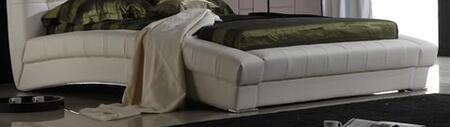 Diamond Sofa BELAIRERAILSEK Belaire Collection Eastern King Bed Rails: