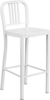 Flash Furniture CH3120030WHGG Residential Not Upholstered Bar Stool