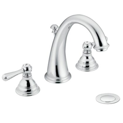 Moen T6125 Kingsley Two-handle High Arc Bathroom Faucet