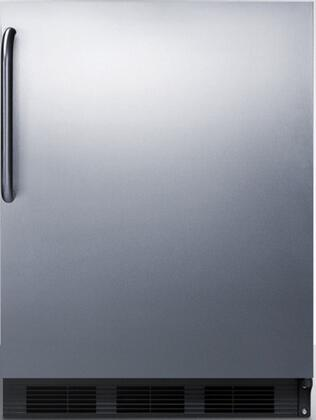 "AccuCold FF7 24"" FF7BI Series Medical, Commercial Freestanding or Built In Compact Refrigerator with 5.5 cu. ft. Capacity, Adjustable Spill Proof Glass Shelves and Automatic Defrost:"