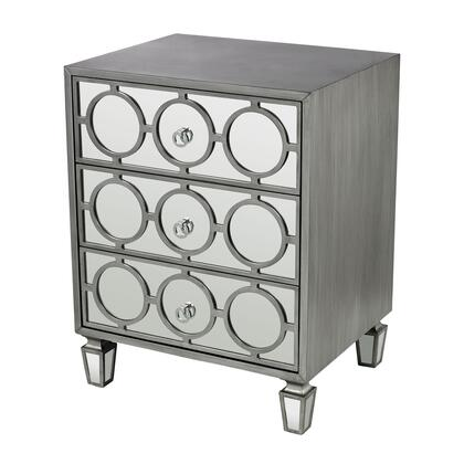 Sterling 114149 Platinum Ring Series Metal Chest