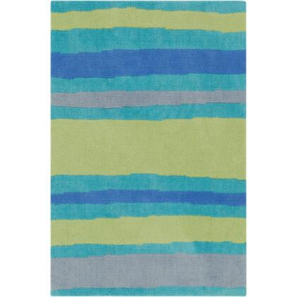 Surya ABI9016X 100% Polyester Super Soft Rug with Cotton Canvas Backing, Low Pile, Super Soft, and Machine Made in China in