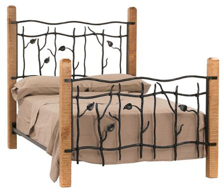 Stone County Ironworks 900993  California King Size Complete Bed