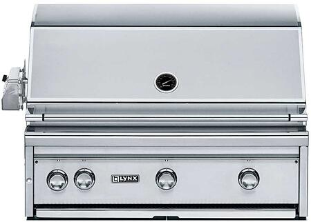 "Lynx L36PSR2LP Built-In 36"" Liquid Propane Grill"