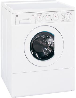 GE WSXH208HWW  3.1 cu. ft. Front Load Washer, in White