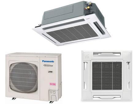 Panasonic 36PSU1U6 Ceiling Recessed Air Conditioner Cooling Area,