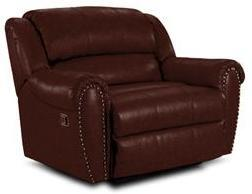 Lane Furniture 2141427542717 Summerlin Series Transitional Leather Wood Frame  Recliners