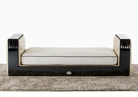VIG Furniture VGUNRX006 A & X Bellagio Series Transitional Fabric Chaise Lounge