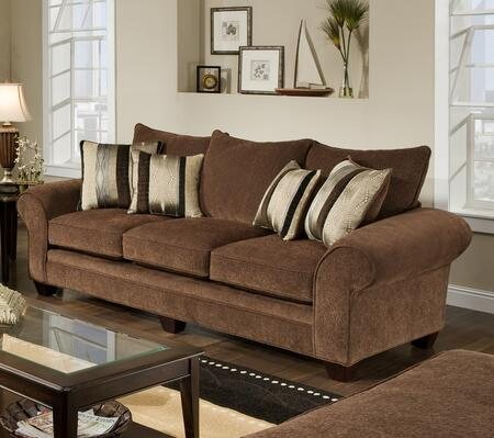 Chelsea Home Furniture 1837083950SL Clearlake Series Chair Sleeper Polyeter Sofa