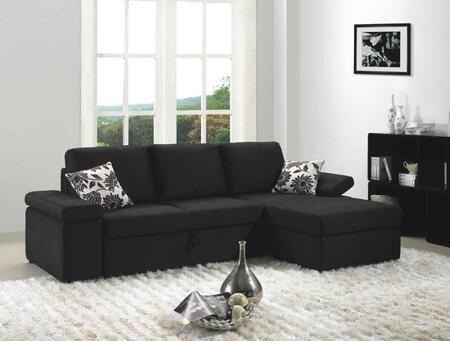 VIG Furniture VGMB1000 Divani Casa Avalon Series Stationary Fabric Sofa