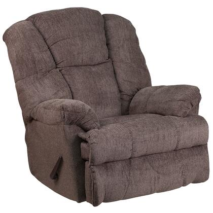 Flash Furniture WM974543 Contemporary Hillel Chenille Rocker Recliner