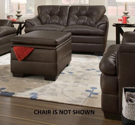 Simmons Upholstery 512201APOLLOESPRESSO
