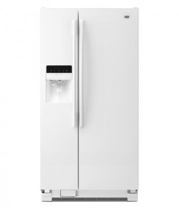 Maytag Msf25d4mdh 36 Inch Side By Side Refrigerator In