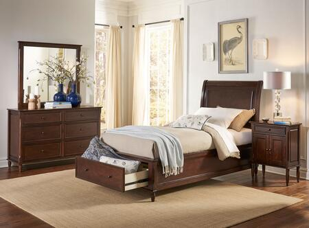 Jofran Avignon Youth 4 Piece Full Size Bedroom Set