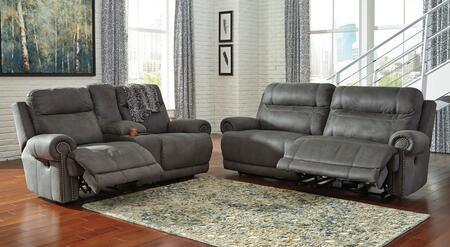 Milo Italia MI2240PSLGRY Zachery Living Room Sets