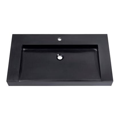 Avanity KNOXSVE900BK Bath Sink