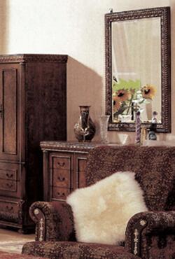Yuan Tai 8427DR Bella Series Wood Dresser