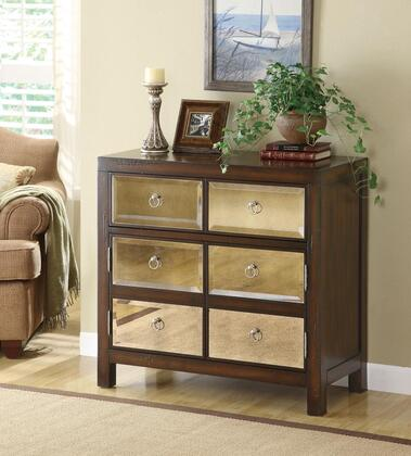 Coaster 950108 Accent Cabinets Series Freestanding Wood 1 Drawers Cabinet