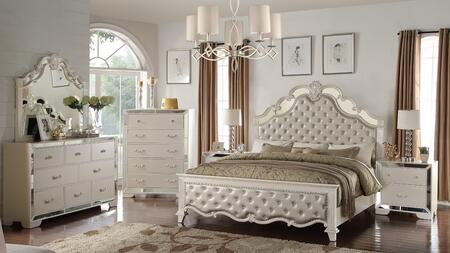Cosmos Furniture Sonia 6 Piece Queen Size Bedroom Set