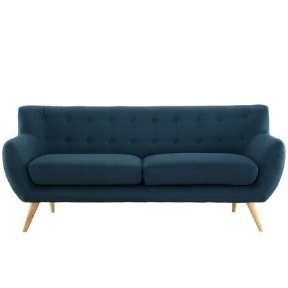 Modway EEI1633AZU Remark Series Stationary Polyester Sofa