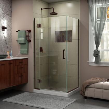 DreamLine Unidoor X Shower Enclosure 6HP 30D 30RP 06