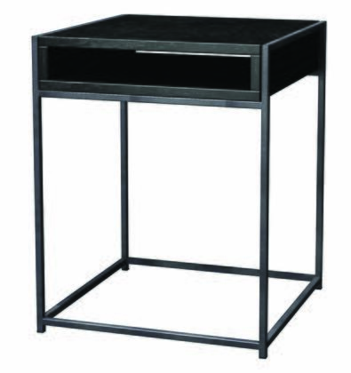 Tag 390124 Wabash Series Contemporary Square End Table
