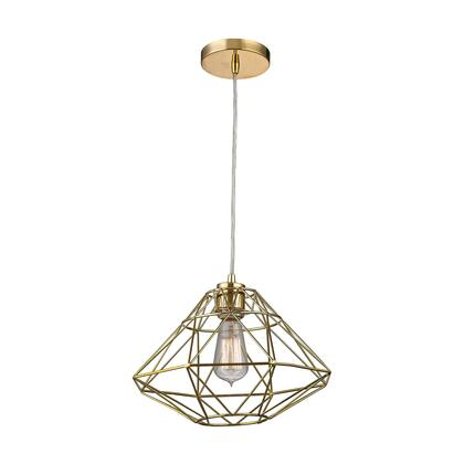 "Sterling Paradigm Collection 9"" Pendant Light with 1 Bulb Capacity, E26 Bulb Type, Indoor Lighting and Metal Construction in"
