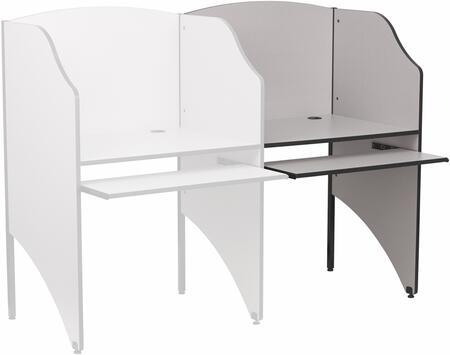 Flash Furniture MT-M6202-XX-ADD-GG Add-On Study Carrel