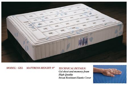 ESF i749-X Gel Mattress in ivory
