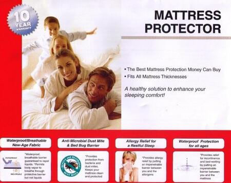 Donco 2250 Size Mattress Protector (Set Of 4)