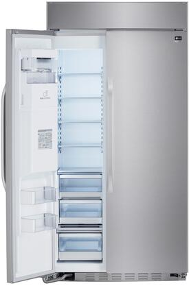 refrigerator 42. lg studio lssb2692st 42 inch side by refrigerator with 25.6 cu. ft. capacity in stainless steel | appliances connection