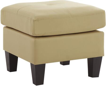 Glory Furniture G462O Newbury Series Contemporary Faux Leather Ottoman
