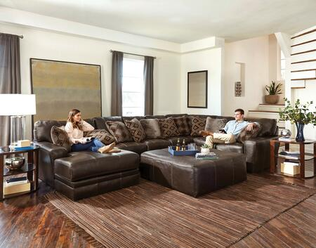 "Jackson Furniture Denali Collection 4378-75-30-72- 163"" 3-Piece Sectional with Left Arm Facing Chaise, Armless Sofa and Right Arm Facing Section with Corner in"