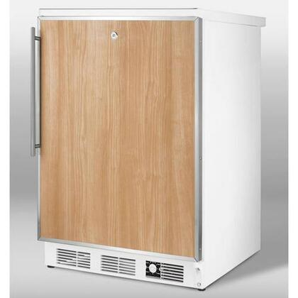 Summit SCFF55LIMFR  Counter Depth Freezer with 5 cu. ft. Capacity in Panel Ready