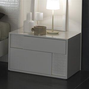 Rossetto T412500000068 Nightfly Series  Wood Night Stand