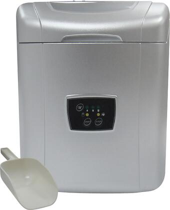 Vinotemp VTICEMP25  Freestanding Ice Maker with 26 lb. Daily Ice Production, 1.8 lb. Ice Storage, in Grey