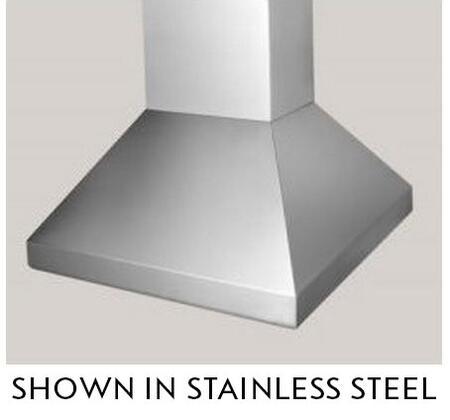 """BlueStar Hampton BSHAMPI30 30"""" Island Range Hood with 3 Speed Fan, Stainless Steel Baffle Filters, 300-600 CFM Internal Fan and Halogen Lamps, in"""