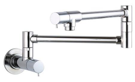 "Hansgrohe 4057 25"" Double Handle Wall Mounted Potfiller from the Talis S Series:"