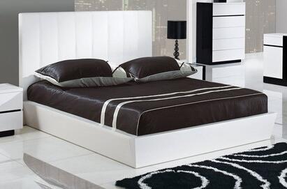 Global Furniture USA TRINITYKB Trinity Series  King Size Platform Bed